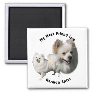 Best Friend German Spitz Magnet