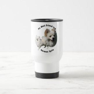 Best Friend German Spitz Travel Mug
