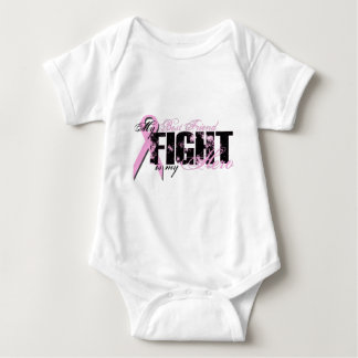 Best Friend Hero - Fight Breast Cancer Baby Bodysuit