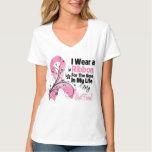 Best Friend Hero in My Life Breast Cancer Tee Shirt