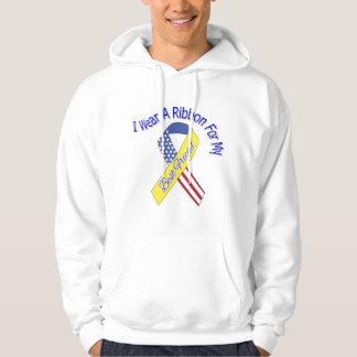 Best Friend - I Wear A Ribbon Military Patriotic Hoody