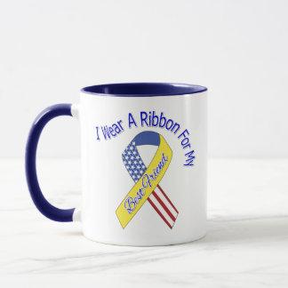 Best Friend - I Wear A Ribbon Military Patriotic Mug