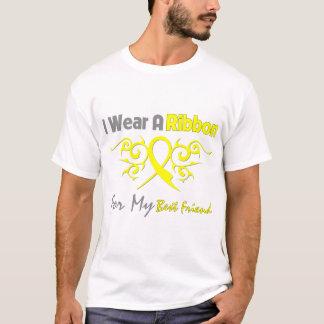 Best Friend - I Wear A Yellow Ribbon Military Supp T-Shirt