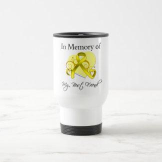 Best Friend - In Memory of Military Tribute Travel Mug