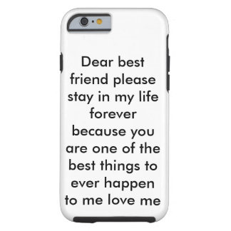 Best friend iPhone 6/6s, Tough Tough iPhone 6 Case