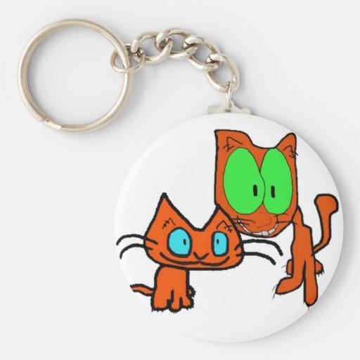 Best Friend Kittys Key Chain