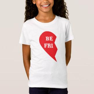 Best Friend Matching Dog and Human Child T-Shirt