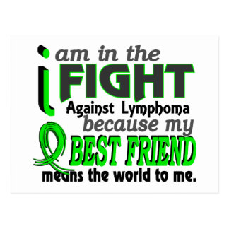 Best Friend Means The World To Me Lymphoma Postcard