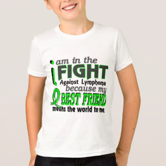 Best Friend Means The World To Me Lymphoma T-Shirt