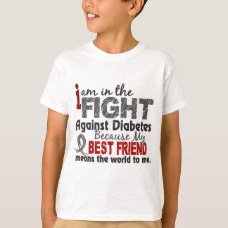 Best Friend Means World To Me Diabetes T-Shirt