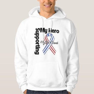 Best Friend - Military Supporting My Hero Hoodie