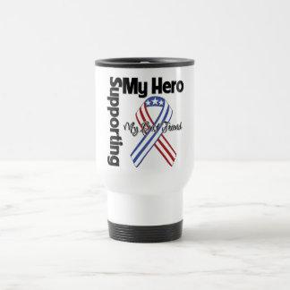 Best Friend - Military Supporting My Hero Travel Mug