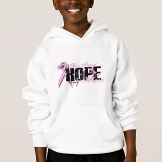 Best Friend My Hero - Breast Cancer Hope Hoodie