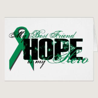 Best Friend My Hero - Kidney Cancer Hope Card