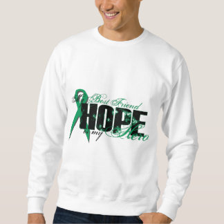 Best Friend My Hero - Kidney Cancer Hope Sweatshirt