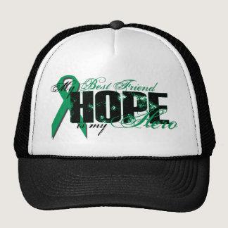 Best Friend My Hero - Kidney Cancer Hope Trucker Hat
