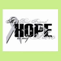 Best Friend My Hero - Lung Hope Postcard
