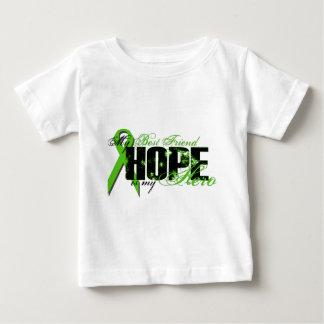 Best Friend My Hero - Lymphoma Hope Baby T-Shirt