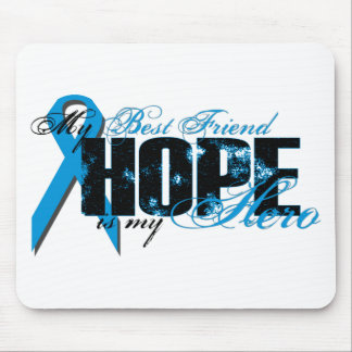 Best Friend My Hero - Prostate Hope Mouse Pad
