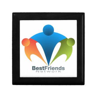 Best Friend Network Icon Keepsake Box