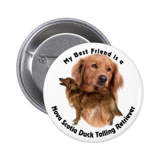 Best Friend Nova Scotia Duck Button