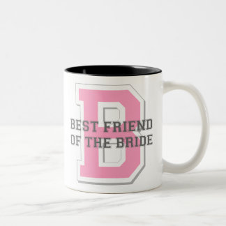 Best Friend of the Bride Cheer Two-Tone Coffee Mug