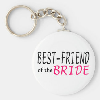 Best Friend Of The Bride Keychain