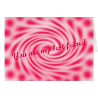 Best Friend Original Poetry Greeting Card