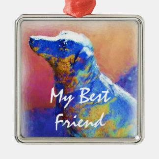 Best Friend ornament