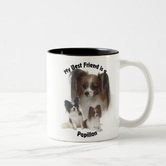 Best Friend Papillon Mug
