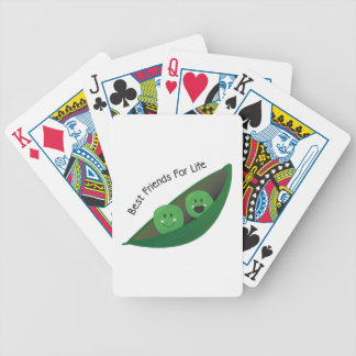 Best Friend Peas Bicycle Playing Cards