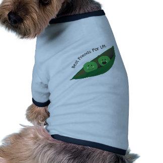 Best Friend Peas Dog Tee Shirt