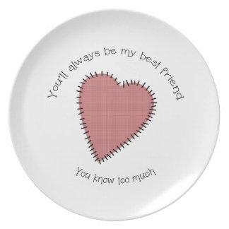 Best Friend Plate