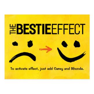 Best Friend Postcard, The Bestie Effect Postcard