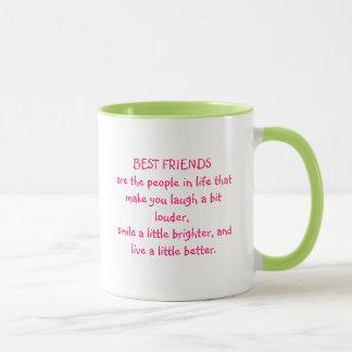 Best Friend Quote Mug