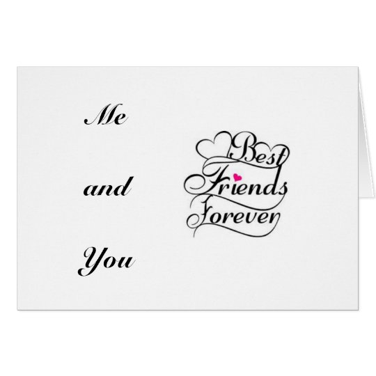 BEST FRIEND SINCE DAY WE MET HAPPY BIRTHDAY CARD – Happy Birthday Card for a Best Friend
