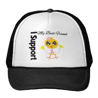 Best Friend Support Breast Cancer Trucker Hats