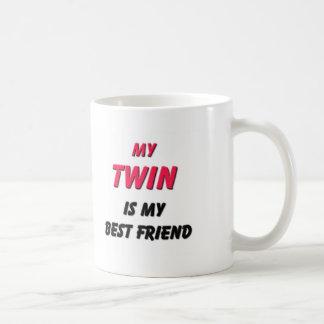 Best Friend Twin Classic White Coffee Mug