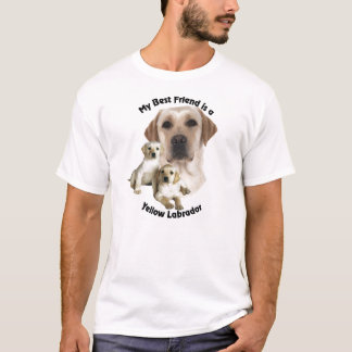 Best Friend Yellow Labrador T-Shirt