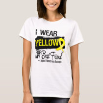 Best Friend Yellow Ribbon Endometriosis T-Shirt