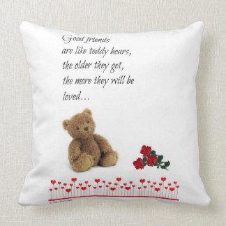 Best friends1 throw pillow