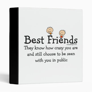 Best Friends 3 Ring Binder