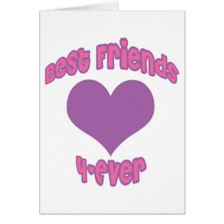 Best Friends 4-Ever Card
