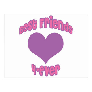 Best Friends 4-Ever Post Card