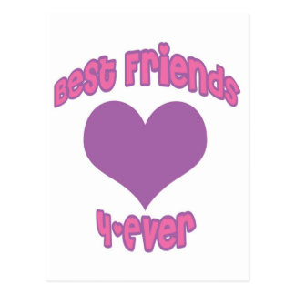 Best Friends 4-Ever Post Cards