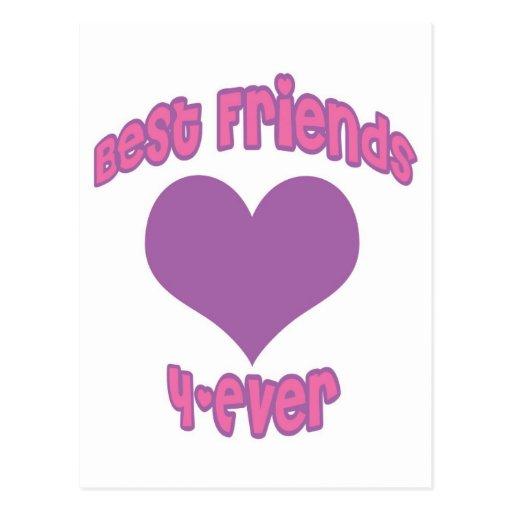 Best Friends 4-Ever Postcard