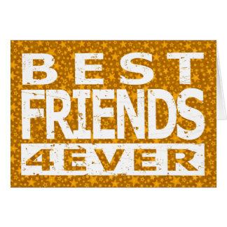 Best Friends 4Ever Card