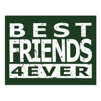 Best Friends 4Ever Postcard