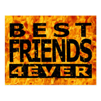 Best Friends 4Ever Post Cards