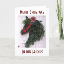 BEST FRIENDS AND MEMORIES SPECIAL CHRISTMAS CARD